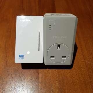 TP Link AV600 Powerline Wifi Kit