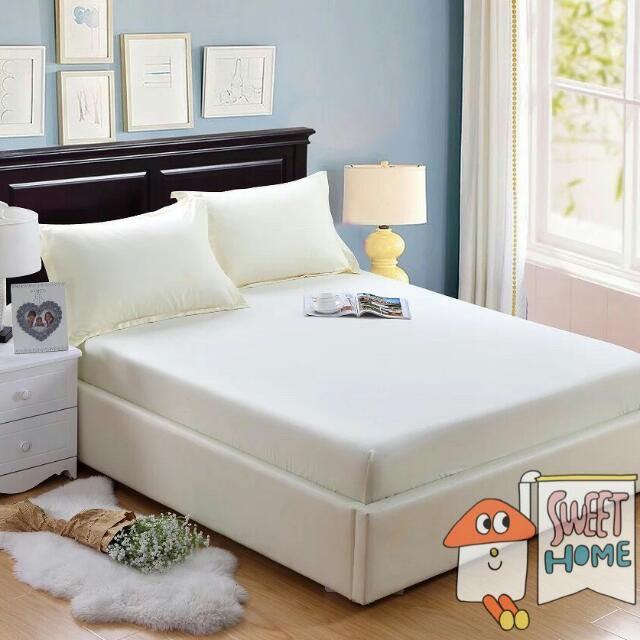 床罩加2個信封枕頭套 180×200純棉材質