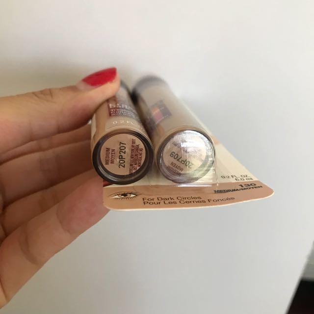 2x Maybelline Age Rewind Concealer (Medium)