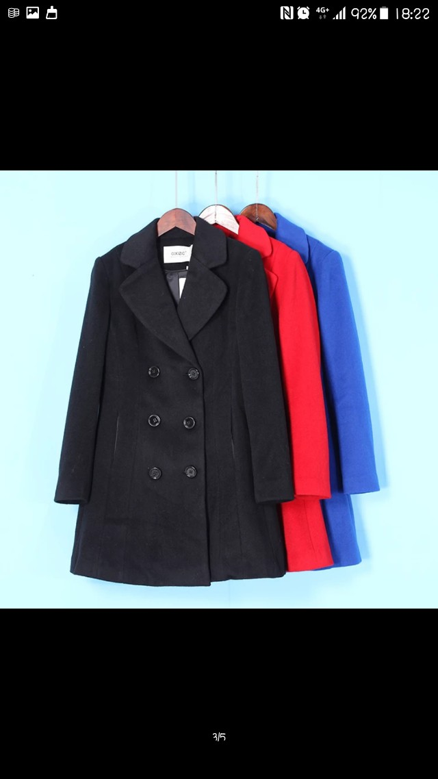 全新氣質(含羊毛)外套