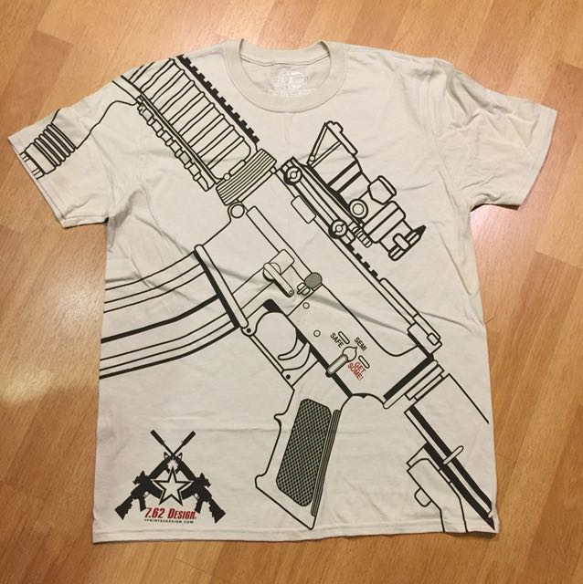 🆕 7.62 Design Military M4 Get Some T-Shirt