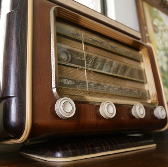 真空管收音機 英國