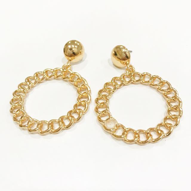 復古系列造型耳環 #百變女孩必備