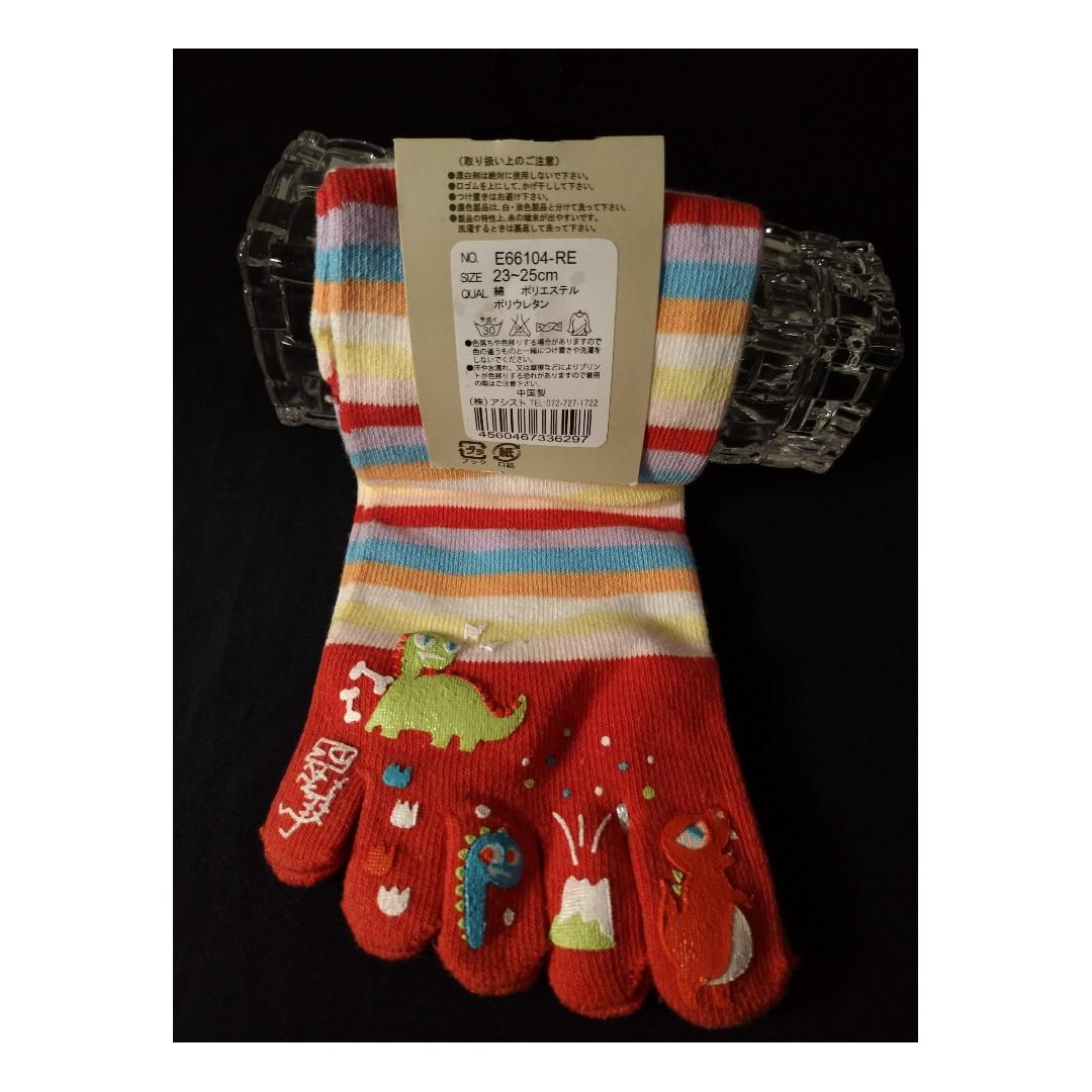 口愛五指襪 & 冬天暖暖襪