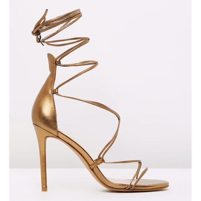 ✨ Bronze Emelda Heels by Siren Size 9.5 BNIB