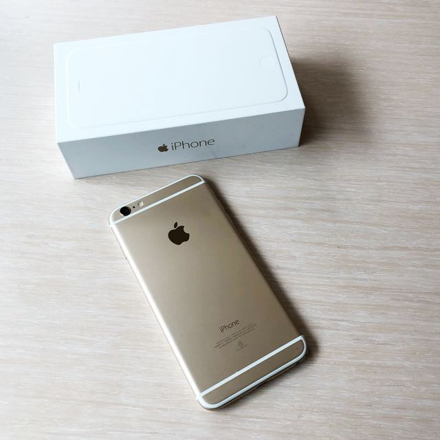 直接低價!!! 二手iPhone 6 Plus 64g 金色  5.5吋(女自用機)