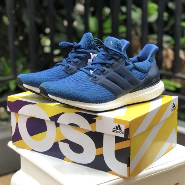 Adidas Originals UltraBOOST 3.0 Caged Blue