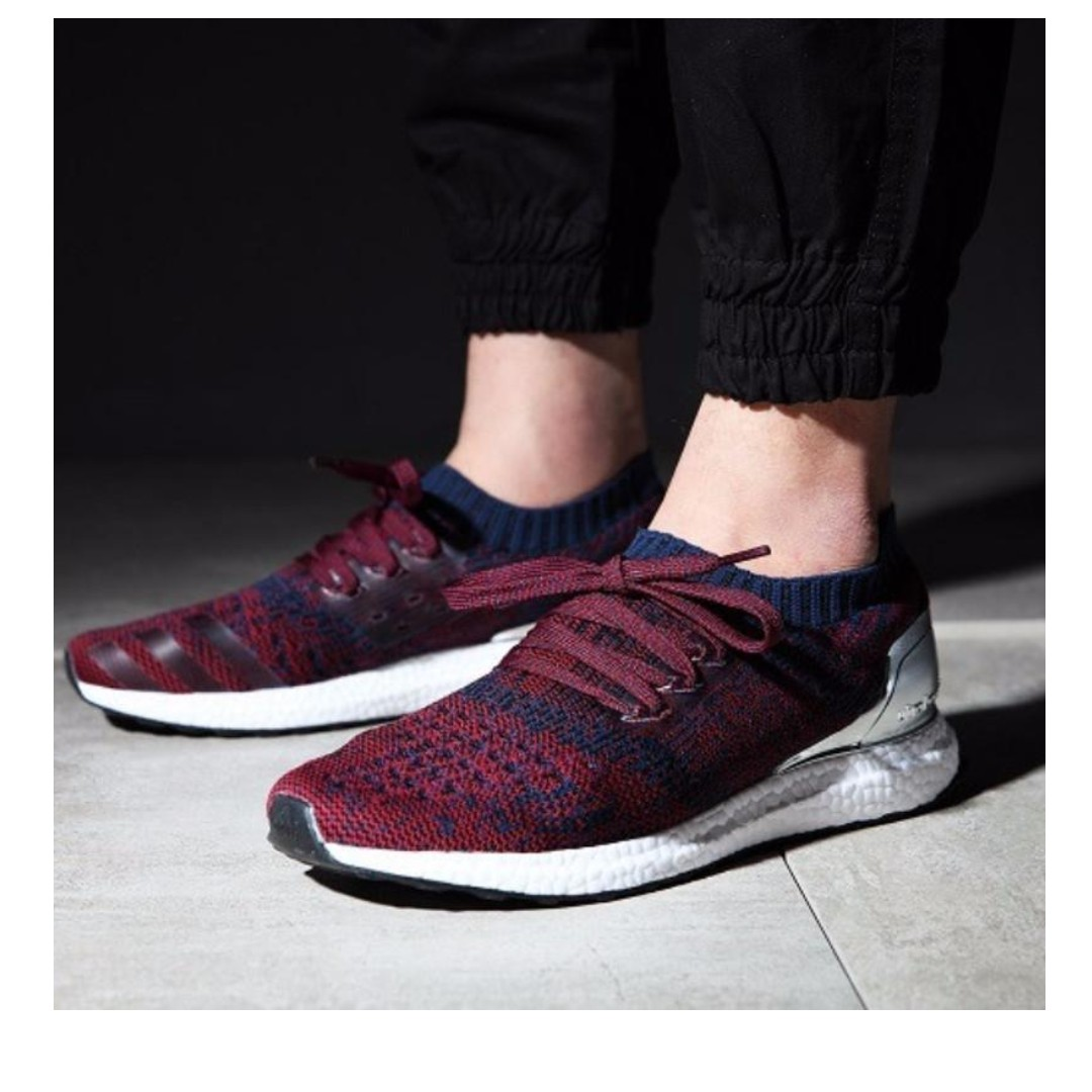 5810bccc7cc5c ... running shoes ba8845 a5b45 313a1  low price adidas ultra boost uncaged wine  red mens fashion footwear sneakers on carousell c304a 220a9