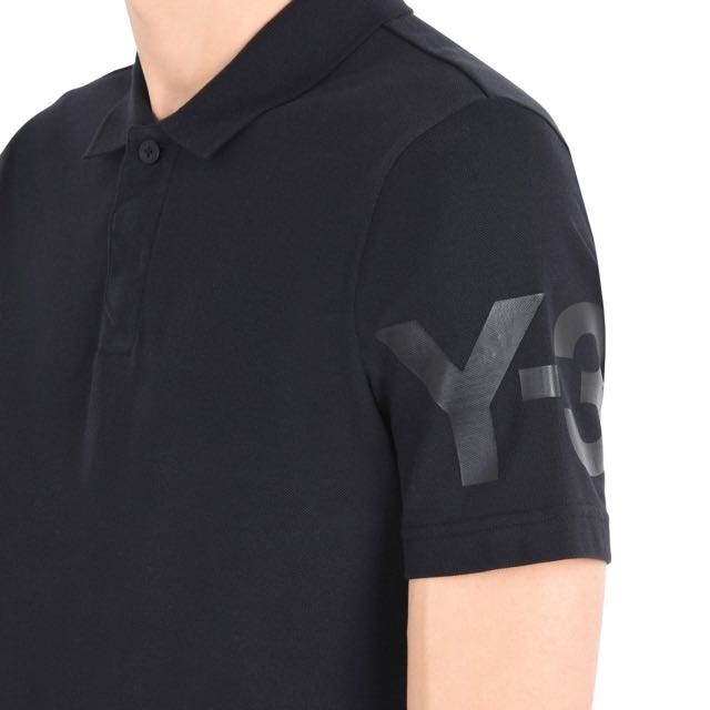 880f71fd Adidas Y3 black polo tee size XS, Men's Fashion, Clothes on Carousell