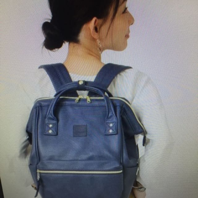 Anello backpack leather