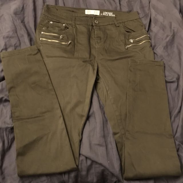 Army olive green pants