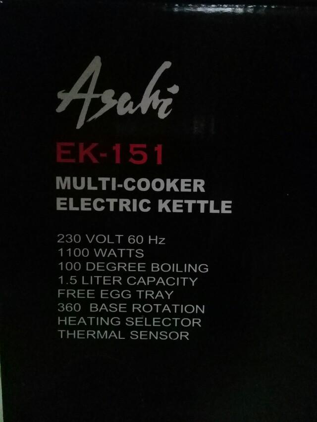 Asahi multi cooker
