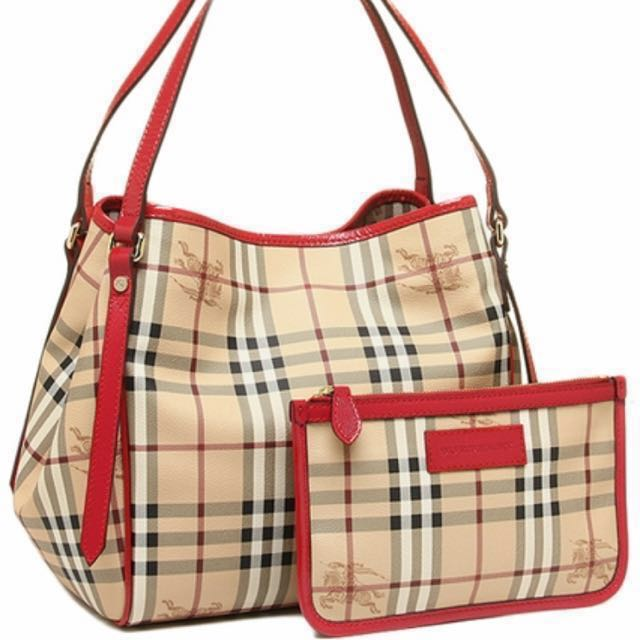 ae0003c9ee6a Authentic Burberry Haymarket Canterbury Tote Bag