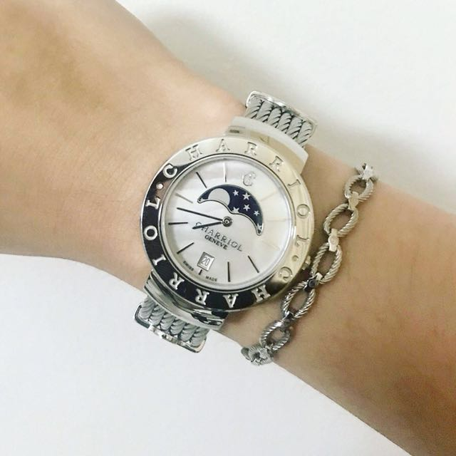 Authentic Charriol St-Tropez Moonphase Watch