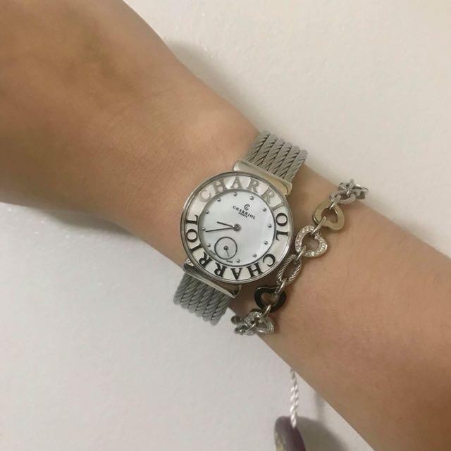 Authentic Charriol St-Tropez Watch