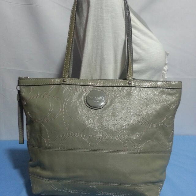 Authentic Coach Patent Leather Bag
