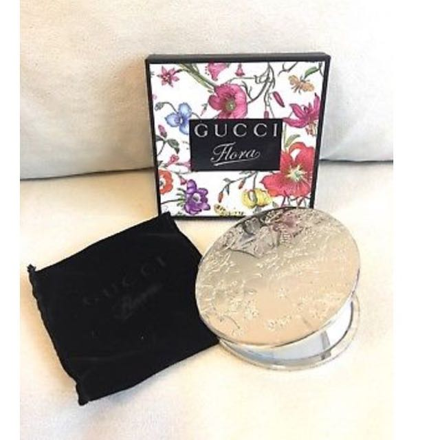 Authentic Gift Gucci Beauty Compact Mirror