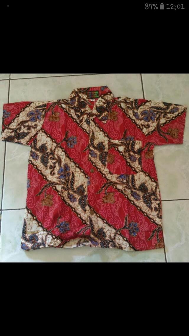 Batik kemeja anak