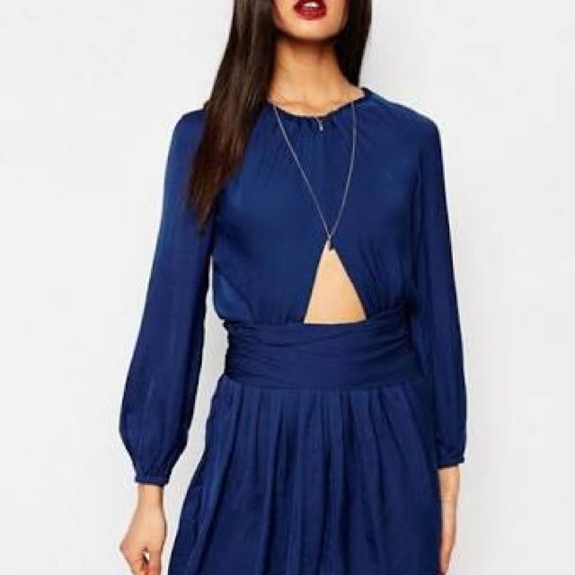 Bec and Bridge Blue Dress