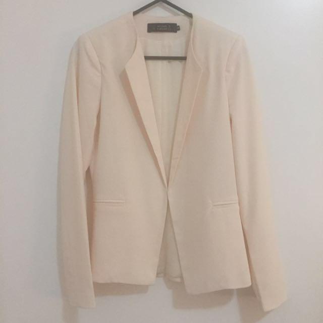 Blazer (Peach / Light Pink)