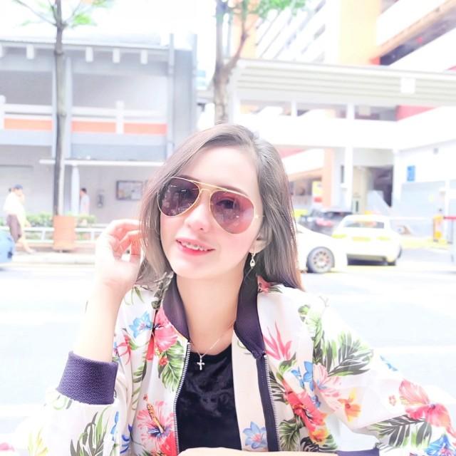 Bomber jacket florist