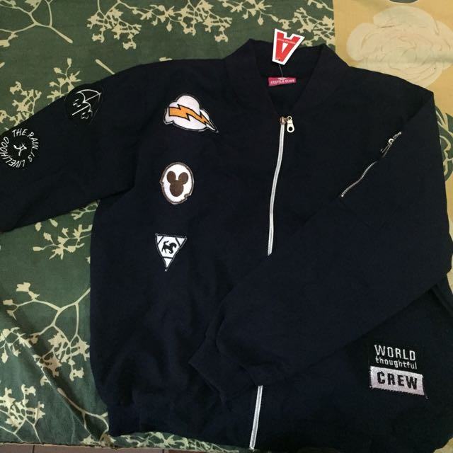 Bomber with patch