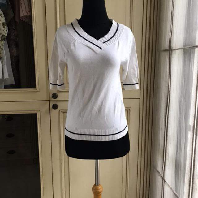 Bossini ladies white top