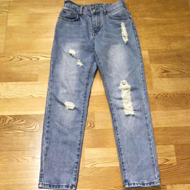 Boyfriend 牛仔褲