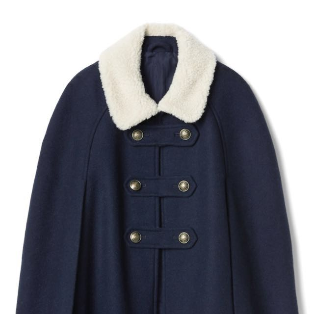 Brand New Sherpa-Lined Cape