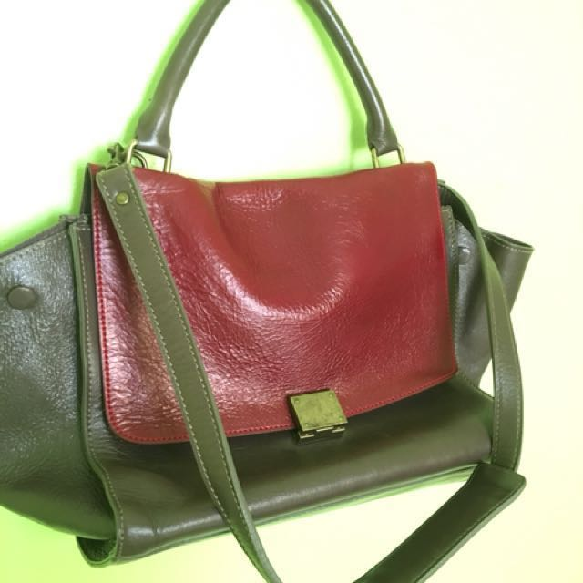 Celine Trapeze Inspired 2 way Bag