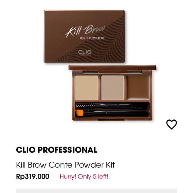 CLIO PROFESSIONAL KILL BROW CONTE POWDER KIT
