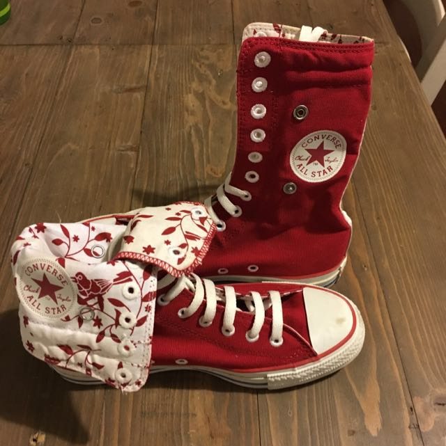 Converse Hi Top Reversible Boots