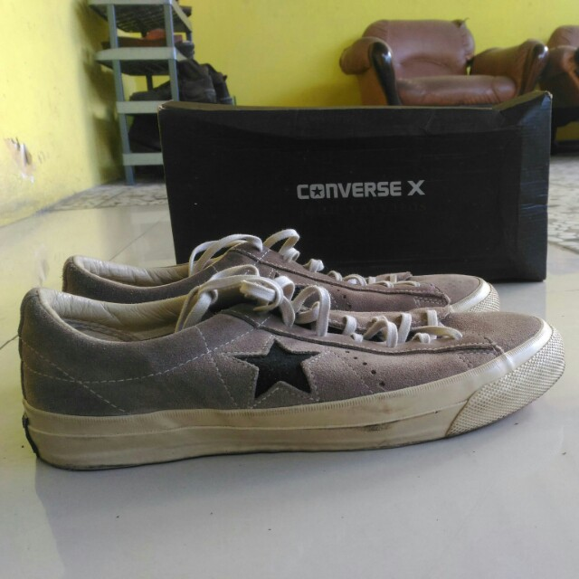 d362e12a620f ... where to buy converse x john varvatos one star ox suede preloved fesyen  pria sepatu di