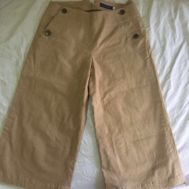 Cullotes brown jeans