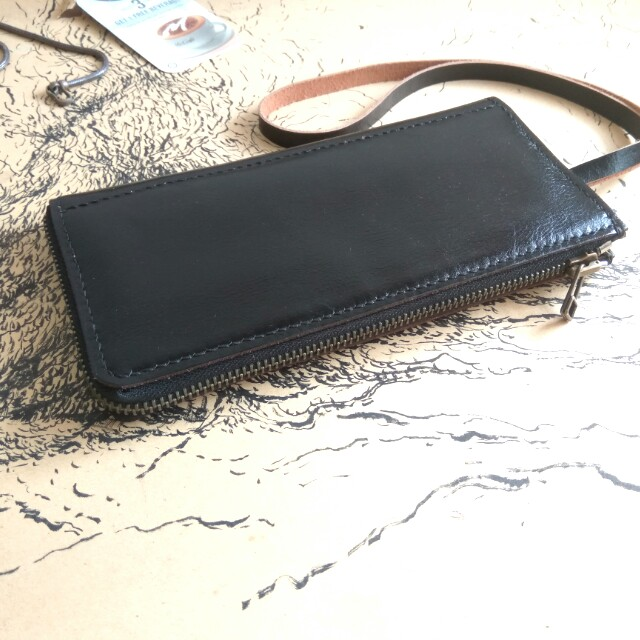 Customize Leather Long Wallet