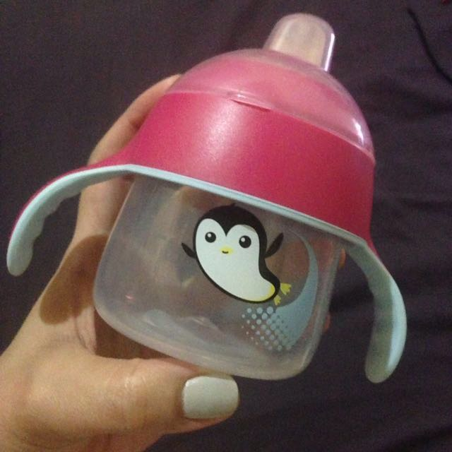Cute AVENT Penguin 🐧 Sippy