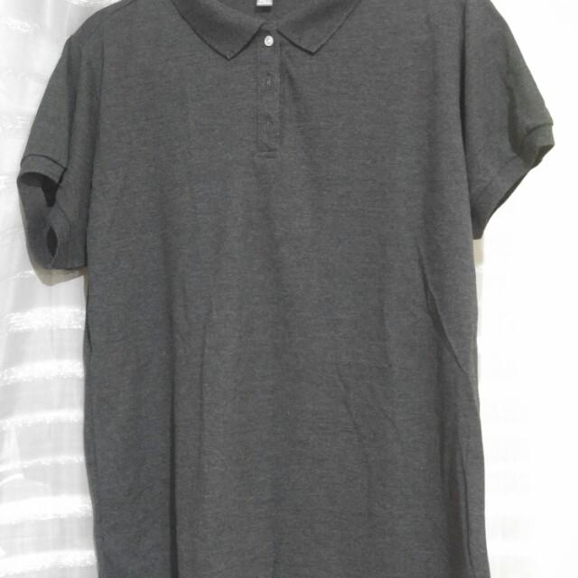 Dark Gray Polo Shirt 663e3014a3