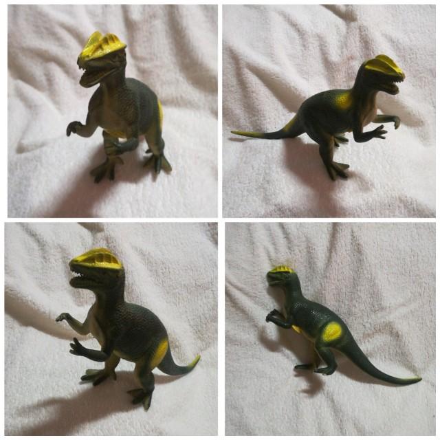 Dinosaur Allosaurus Hard Toy with Sound
