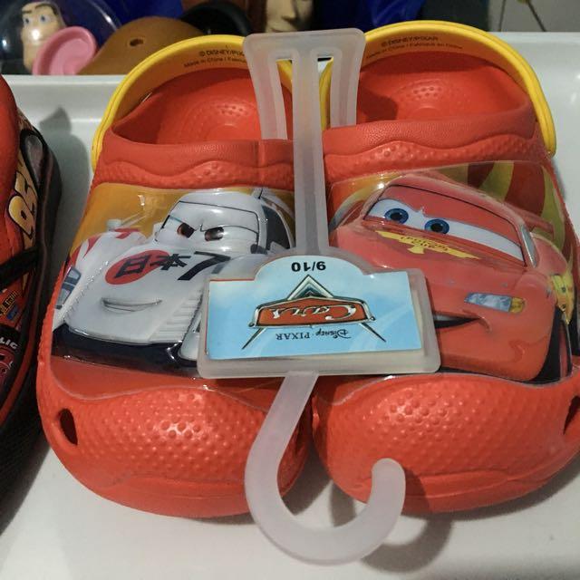DisneyCars LightningMcqueen Clogs and Aqua Shoes