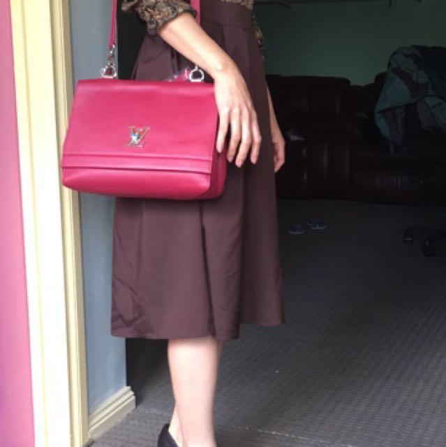 Dress and bag