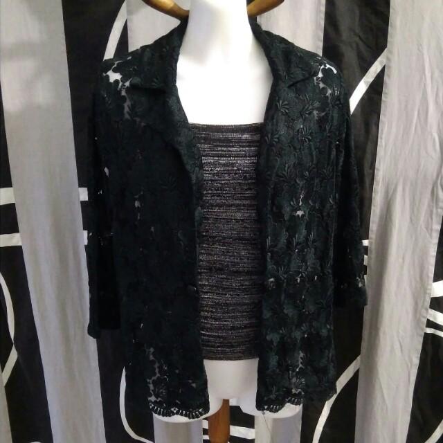 Sale 181 * Embroidered blazer