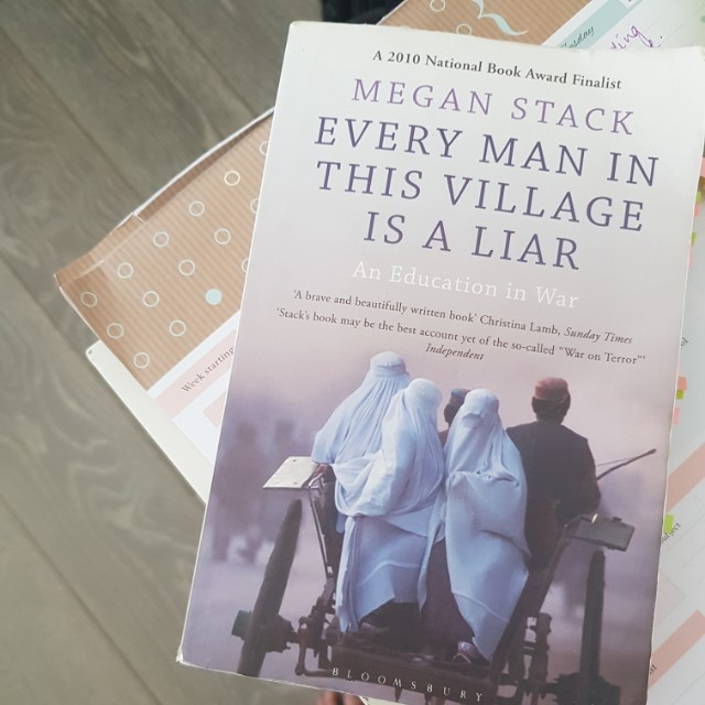 Every man in this village is a liar - megan stacks
