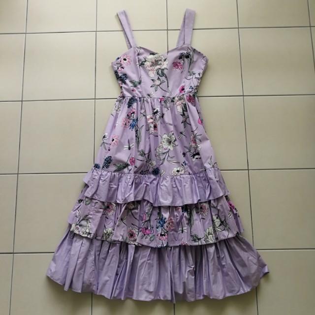 Floral dress design