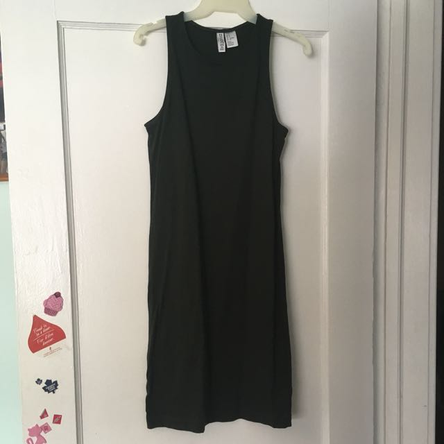 Forever 21-Army Green Dress
