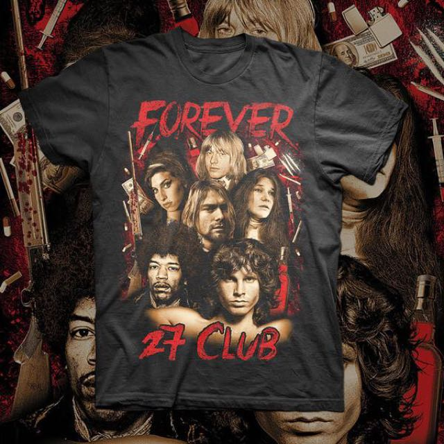 Forever 27 club t