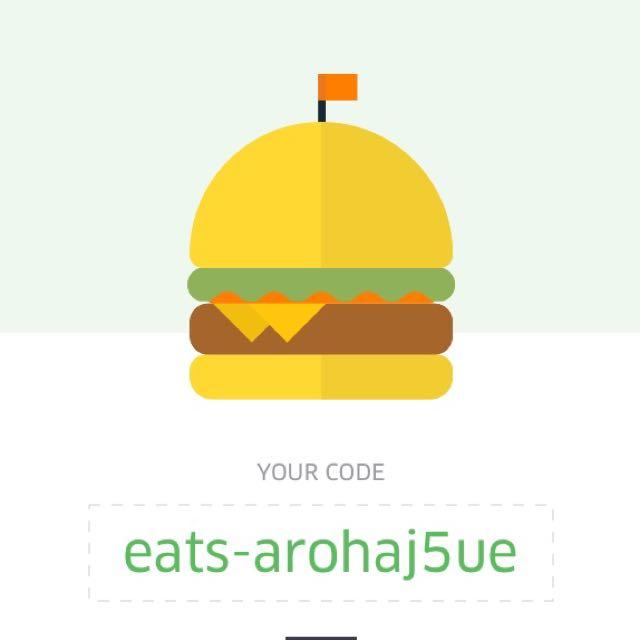 Free $10 Uber eats code