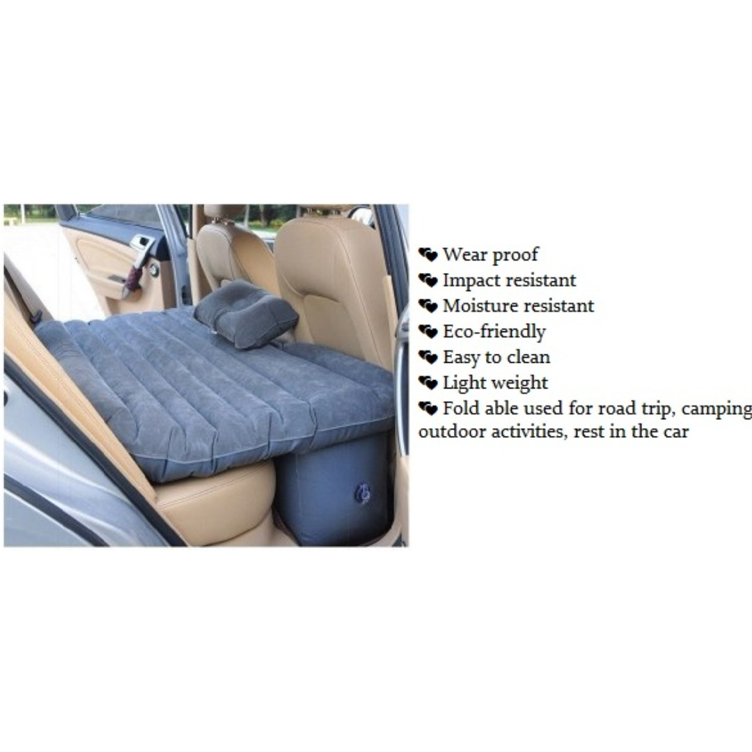 [FREE COD/POSTAGE] INFLATABLE CAR AIR BED