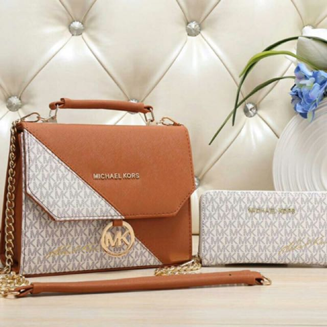 15868a7a45c8 FREE POS * MICHAEL KORS*, Women's Fashion, Bags & Wallets on Carousell