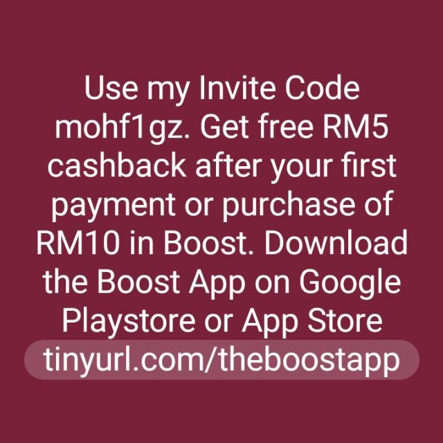 Free RM5 cashback, Tickets & Vouchers, Gift Cards & Vouchers
