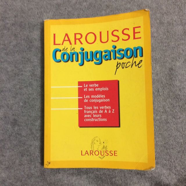 French MOELC Dictionary and Conjugaison book